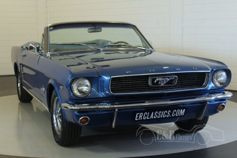ford mustang 1966 zum kauf bei erclassics. Black Bedroom Furniture Sets. Home Design Ideas