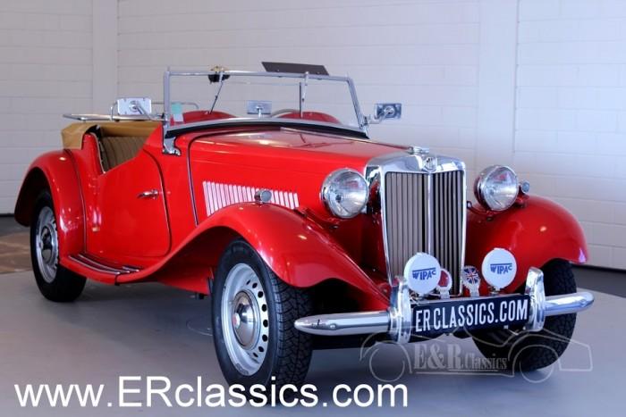 MG TD Cabriolet 1952 kaufen
