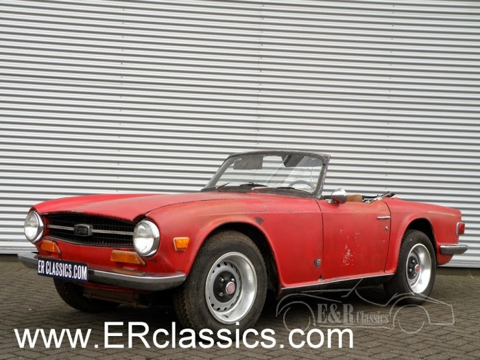 Triumph TR6 Cabriolet 1971 kaufen