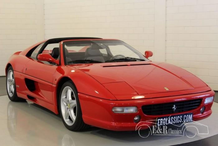 Ferrari F355 Gts F1 47 200 Km 1998 Zum Kauf Bei Erclassics
