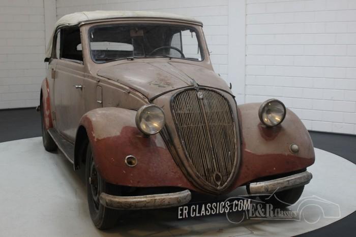 Barnfind 6-cyl NSU-Fiat 1500 Gläser Kabriolett 1938 kaufen