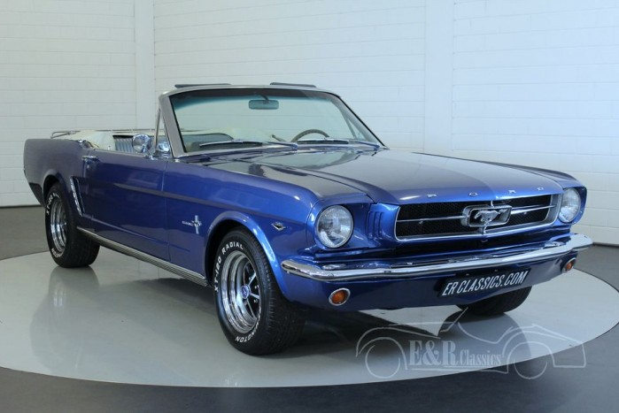 ford mustang cabriolet 1965 zum kauf bei erclassics. Black Bedroom Furniture Sets. Home Design Ideas