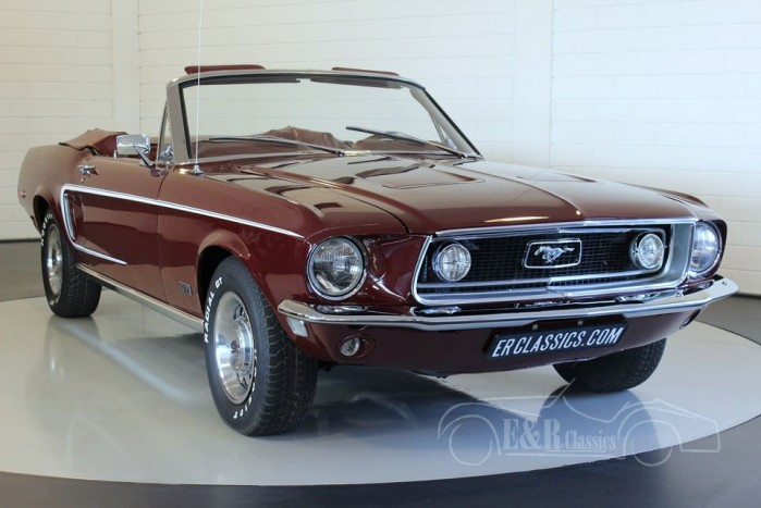 ford mustang gt cabriolet 1968 zum kauf bei erclassics. Black Bedroom Furniture Sets. Home Design Ideas