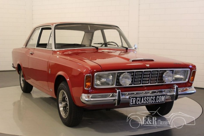 ford taunus 20m p7a 1968 coupe zum kauf bei erclassics. Black Bedroom Furniture Sets. Home Design Ideas