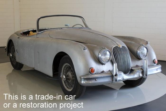 Jaguar XK150 OTS 1958  kaufen