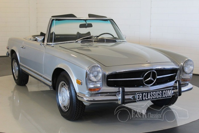mercedes benz 280sl 1969 zum kauf bei erclassics. Black Bedroom Furniture Sets. Home Design Ideas