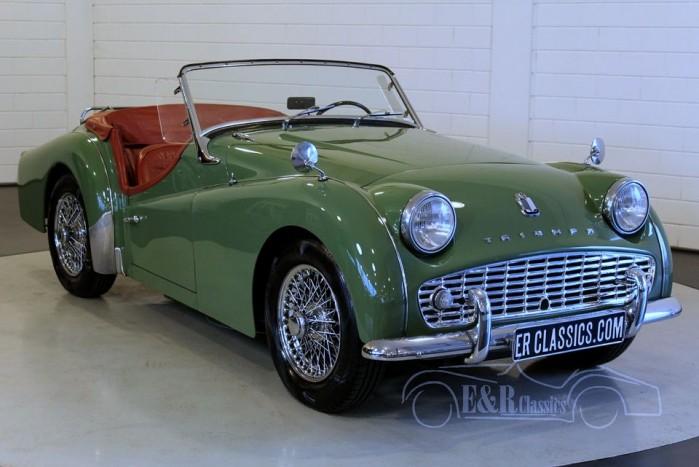 Triumph TR3A Roadster 1959 kaufen