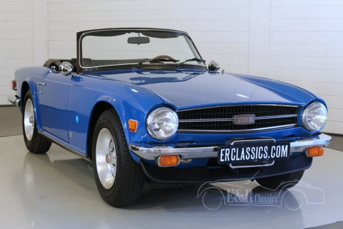 triumph tr6 cabriolet 1976 zum kauf bei erclassics. Black Bedroom Furniture Sets. Home Design Ideas
