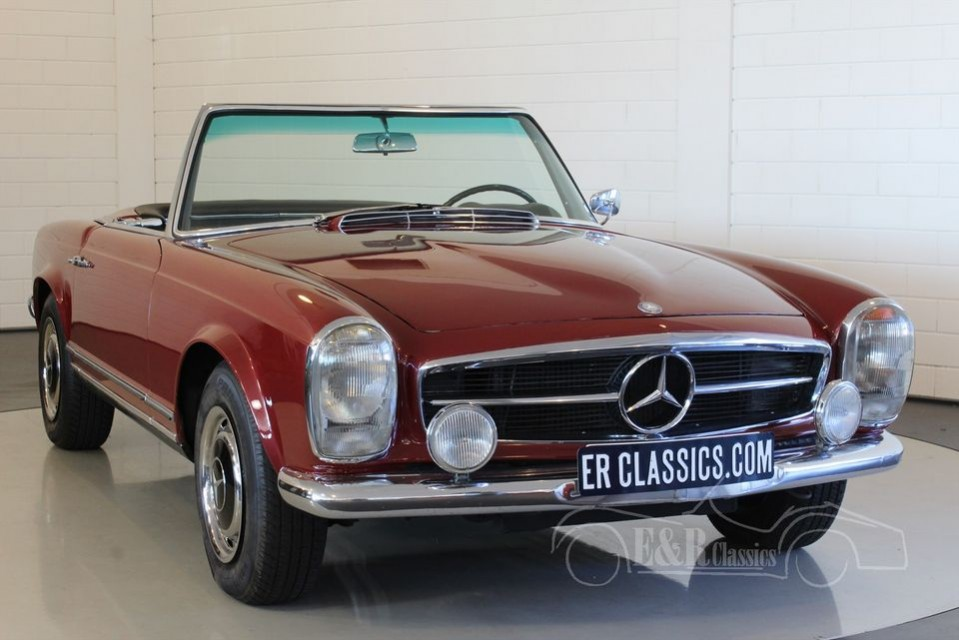 mercedes benz 250 sl pagode 1967 zum kauf bei erclassics. Black Bedroom Furniture Sets. Home Design Ideas