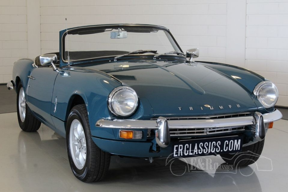 triumph spitfire mkiii cabriolet 1968 zum kauf bei erclassics. Black Bedroom Furniture Sets. Home Design Ideas