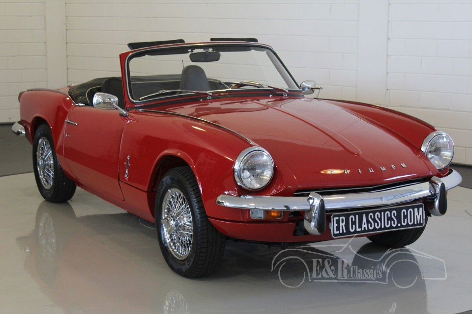 triumph spitfire mk3 cabriolet 1968 zum kauf bei erclassics. Black Bedroom Furniture Sets. Home Design Ideas