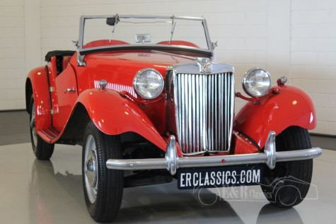 MG TD Cabriolet 1951 kaufen