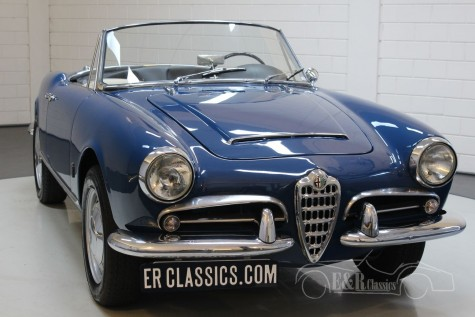 Alfa Romeo Giulia 1600 Spider 1963 kaufen