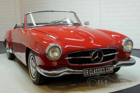 Mercedes-Benz 190SL 1962 kabriolett kaufen