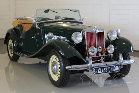 MG TD Roadster 1953 kaufen