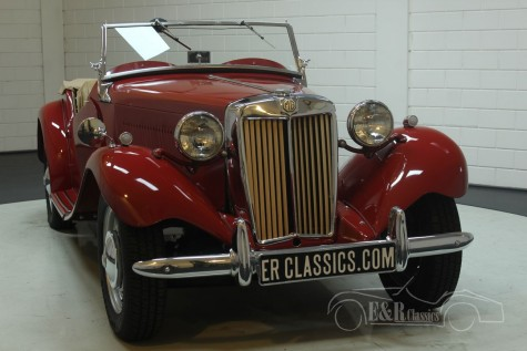 MG TD Kabriolett 1951  kaufen