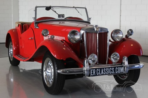 MG TD 1952 Roadster  kaufen