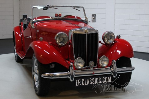 MG TD Cabriolet 1953 kaufen