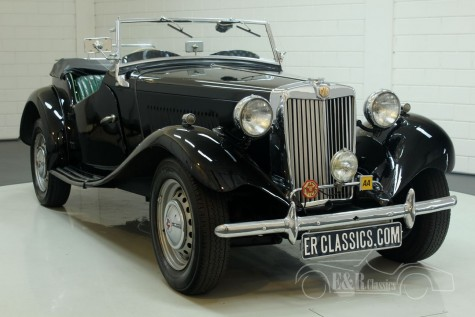 MG TD Roadster 1952  kaufen