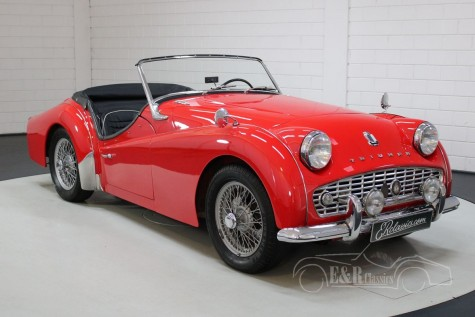 Triumph TR3 1959 kaufen