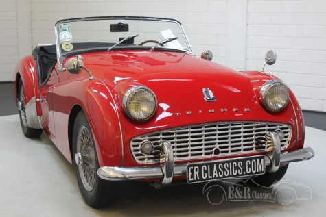 Triumph TR3A 1960  kaufen