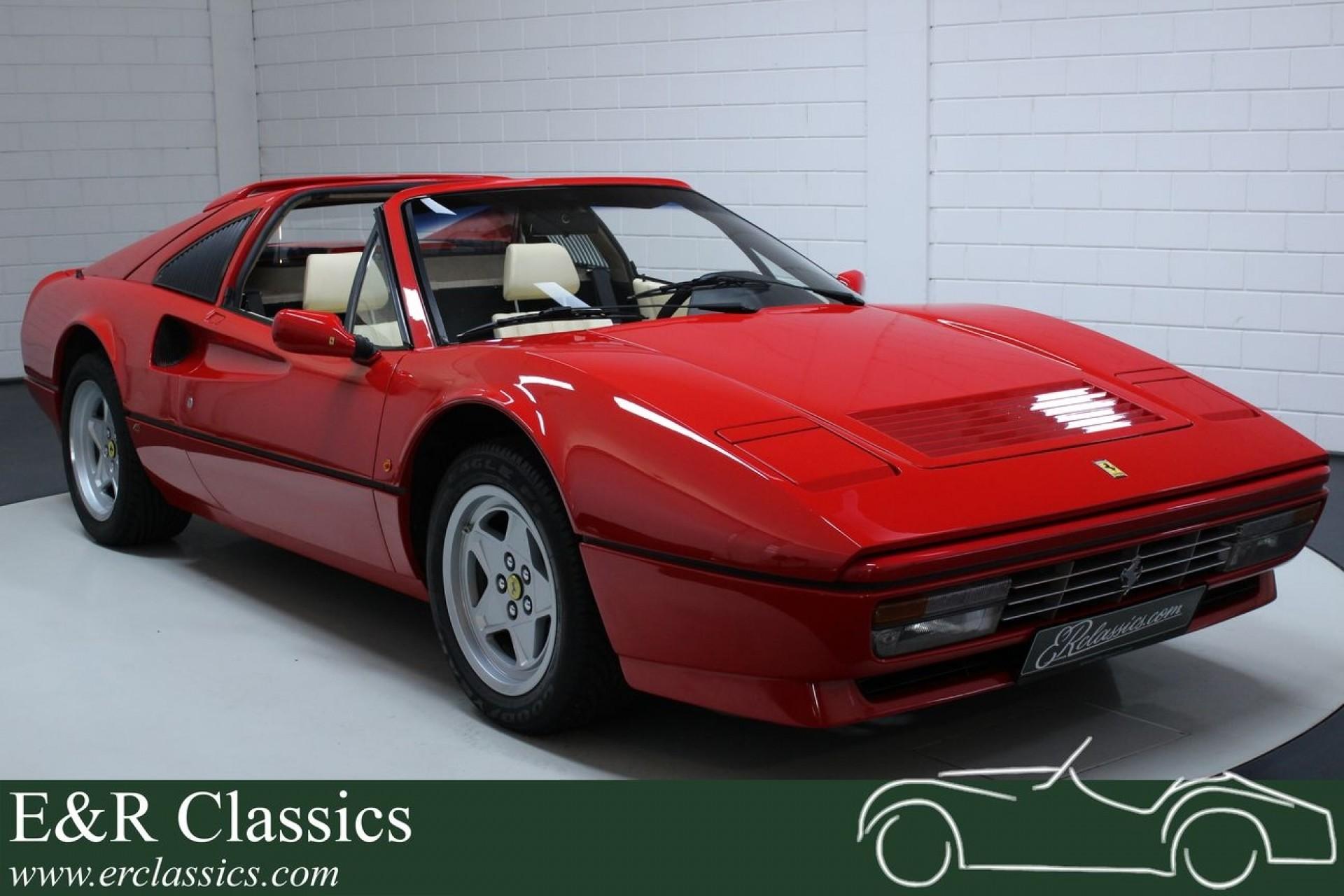 Ferrari 328 Gts 1988 43577 Nachweislich Zum Kauf Bei Erclassics