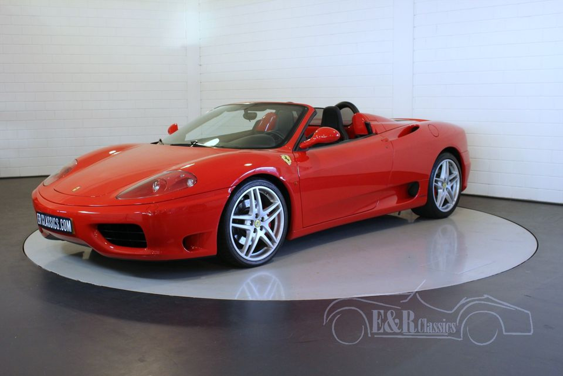 ferrari 360 spider f1 2002 zum kauf bei erclassics. Black Bedroom Furniture Sets. Home Design Ideas