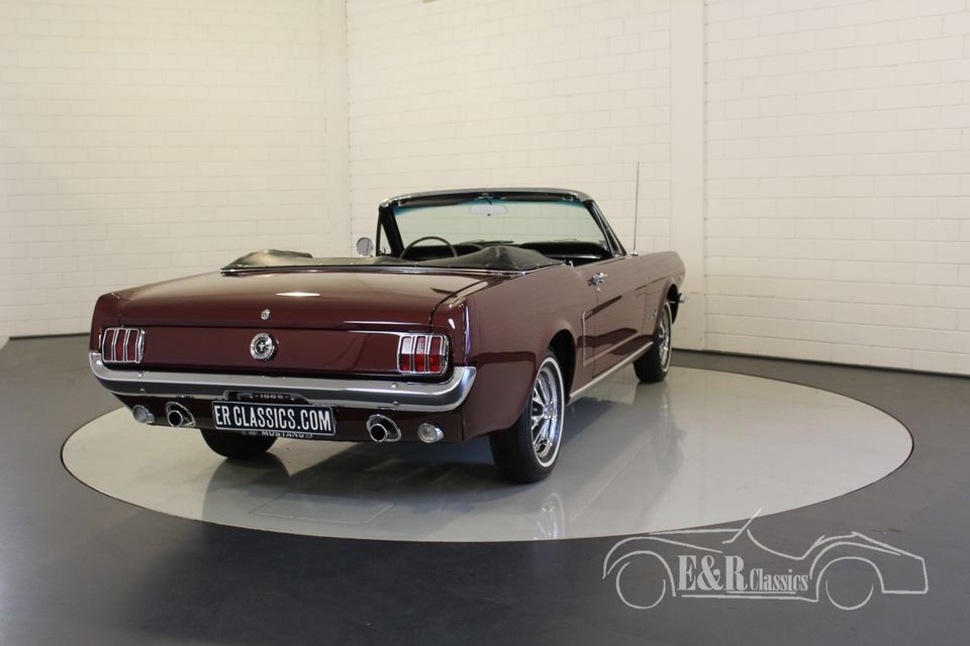 ford mustang cabriolet 1964 v8 zum kauf bei erclassics. Black Bedroom Furniture Sets. Home Design Ideas