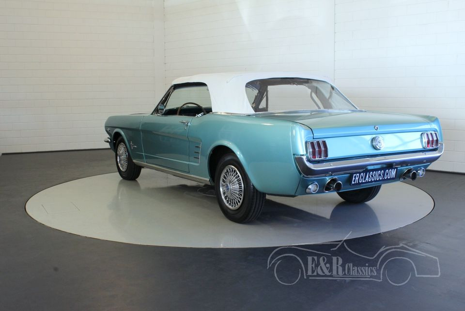 ford mustang v8 cabriolet 1966 zum kauf bei erclassics. Black Bedroom Furniture Sets. Home Design Ideas