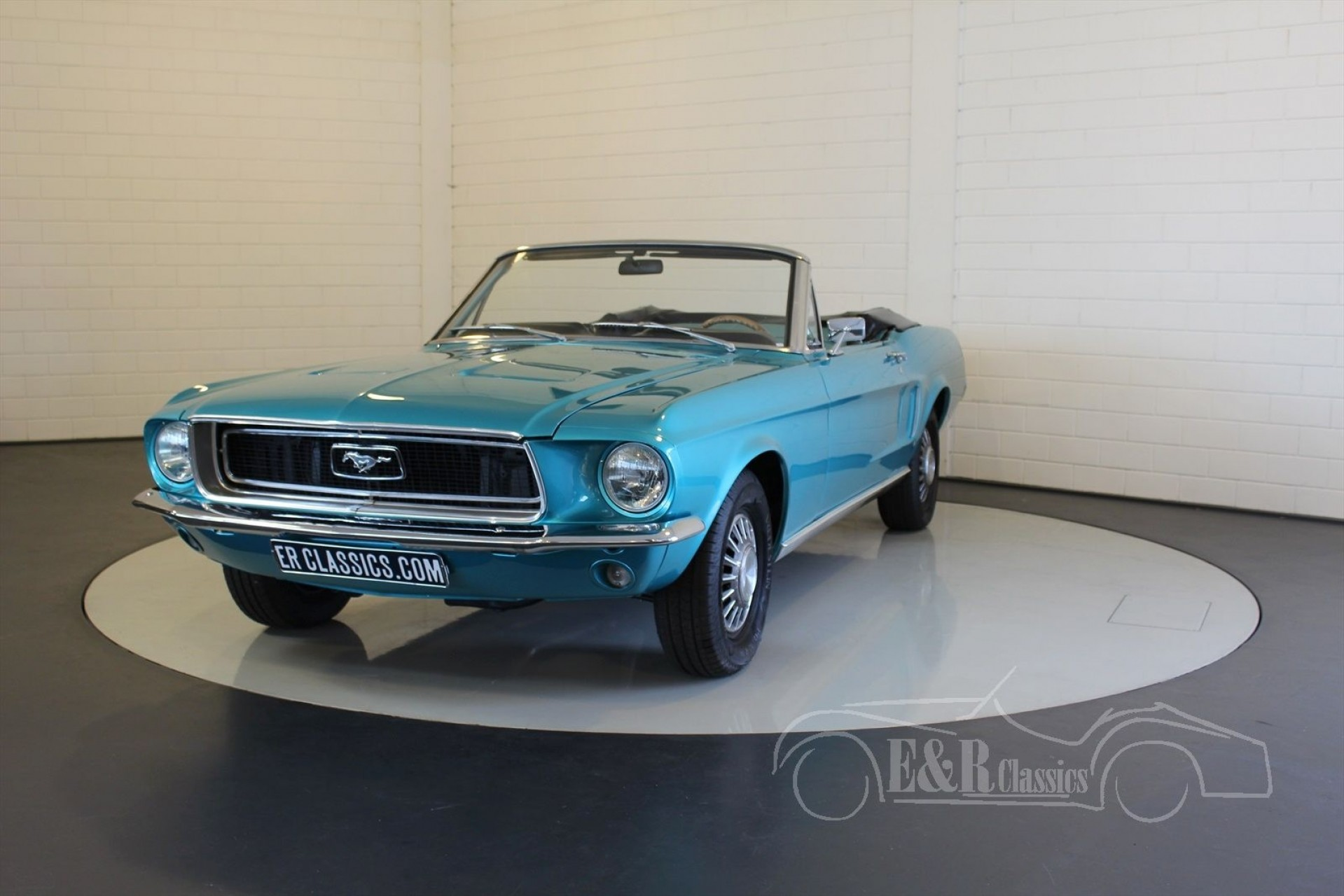 ford mustang v8 cabriolet 1968 zum kauf bei erclassics. Black Bedroom Furniture Sets. Home Design Ideas