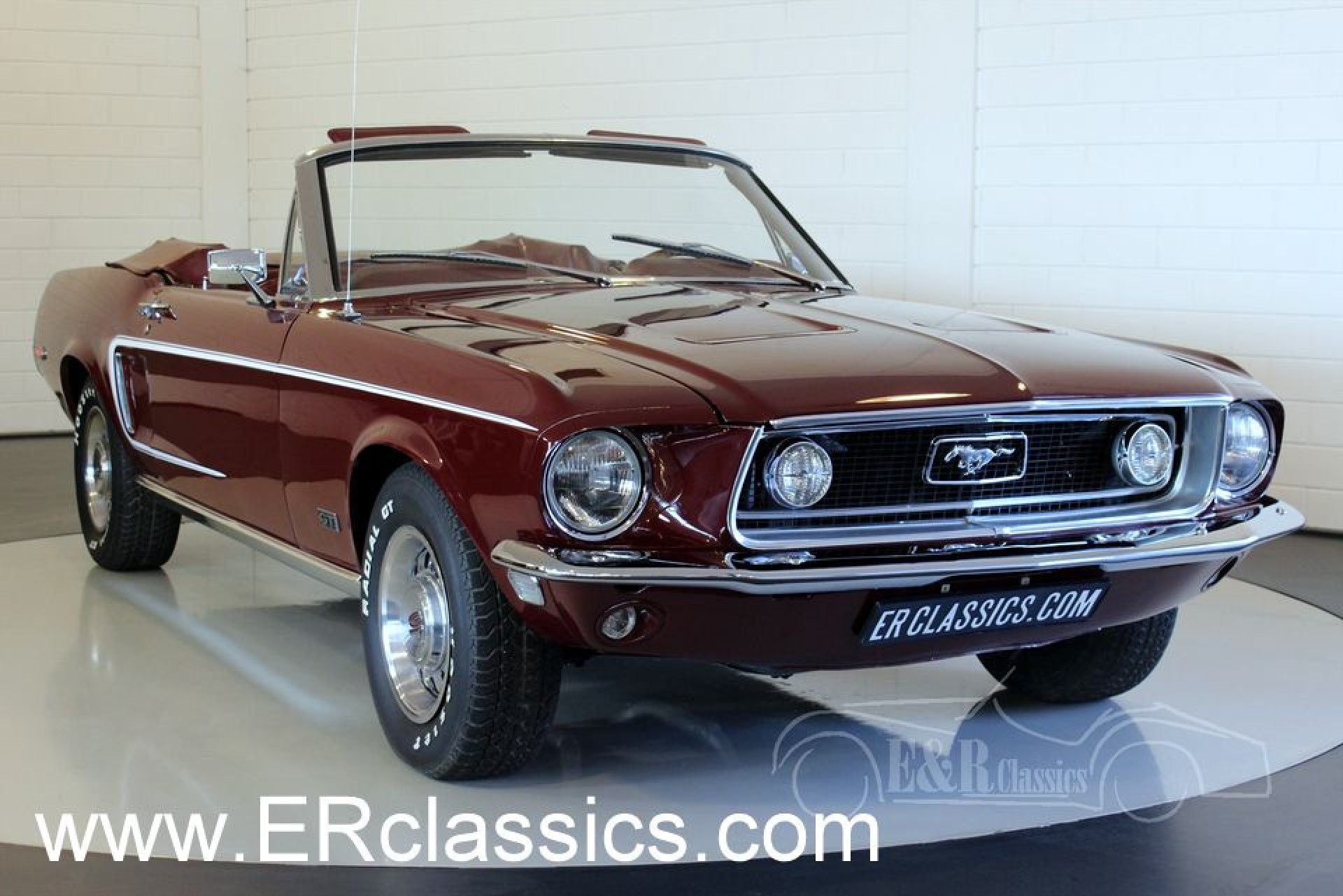 Ford mustang gt cabriolet 1968 alle fotos ansehen