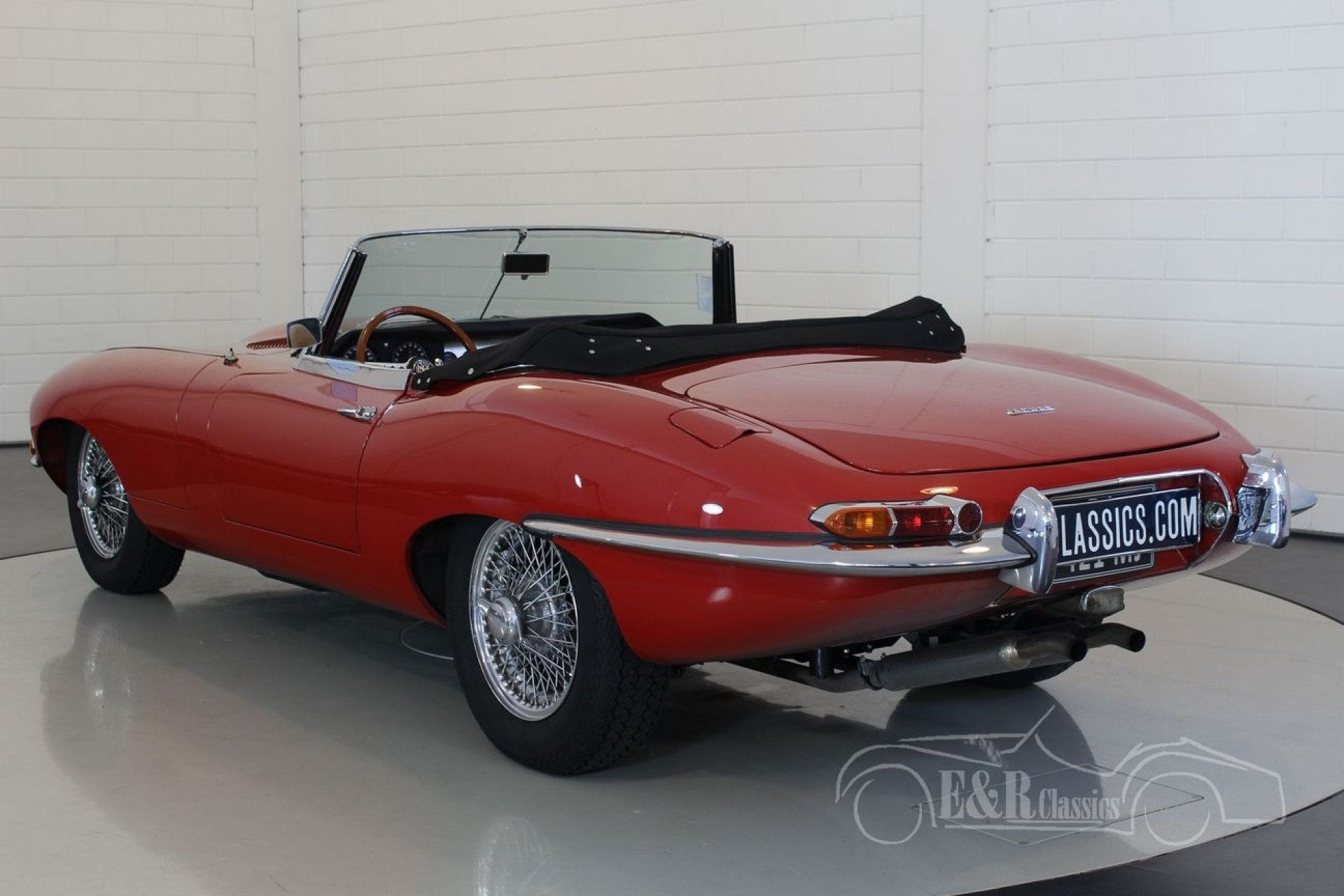 jaguar e type series 1 cabriolet 1962 zum kauf bei erclassics. Black Bedroom Furniture Sets. Home Design Ideas