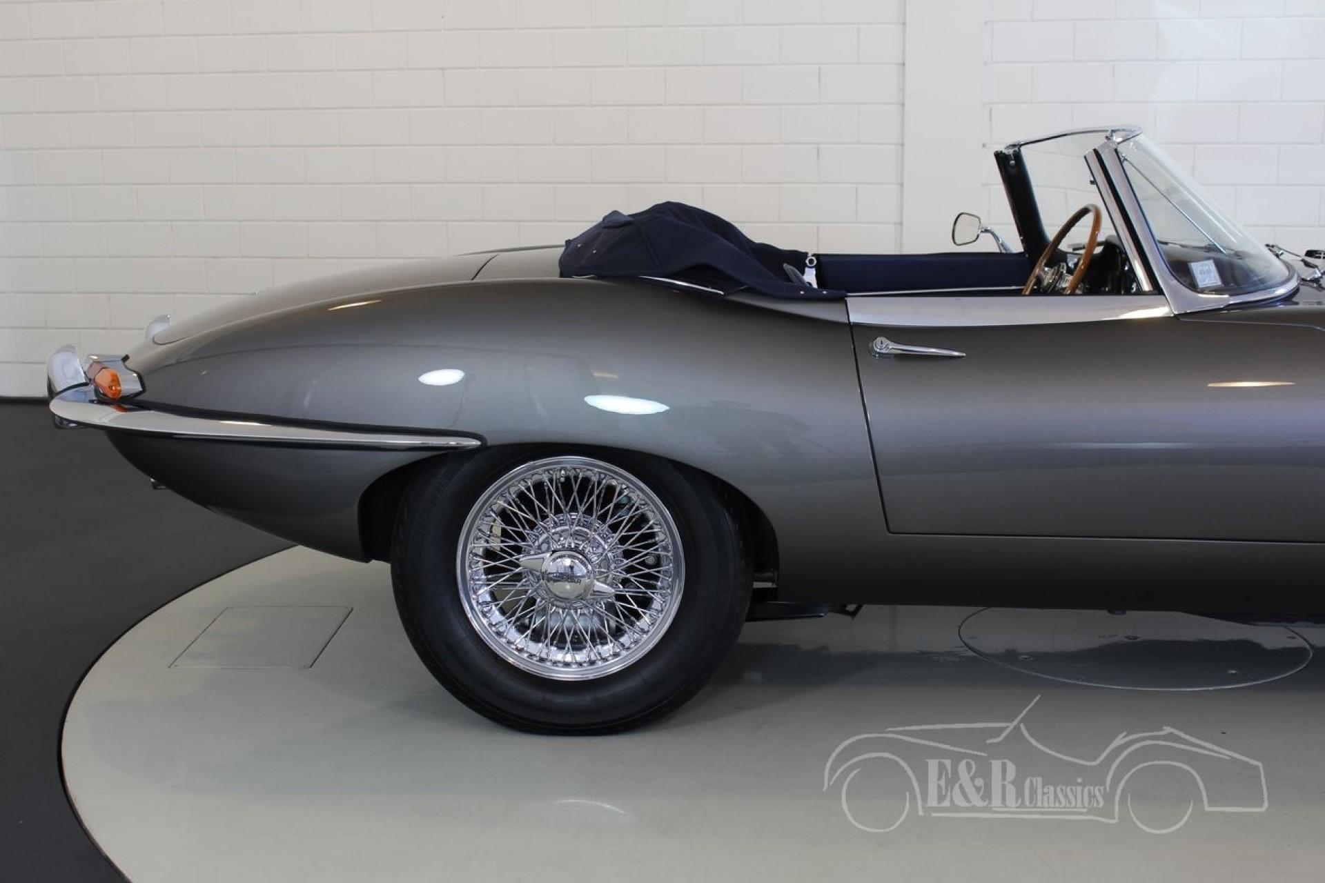 jaguar e type s1 3 8l cabriolet 1963 zum kauf bei erclassics. Black Bedroom Furniture Sets. Home Design Ideas