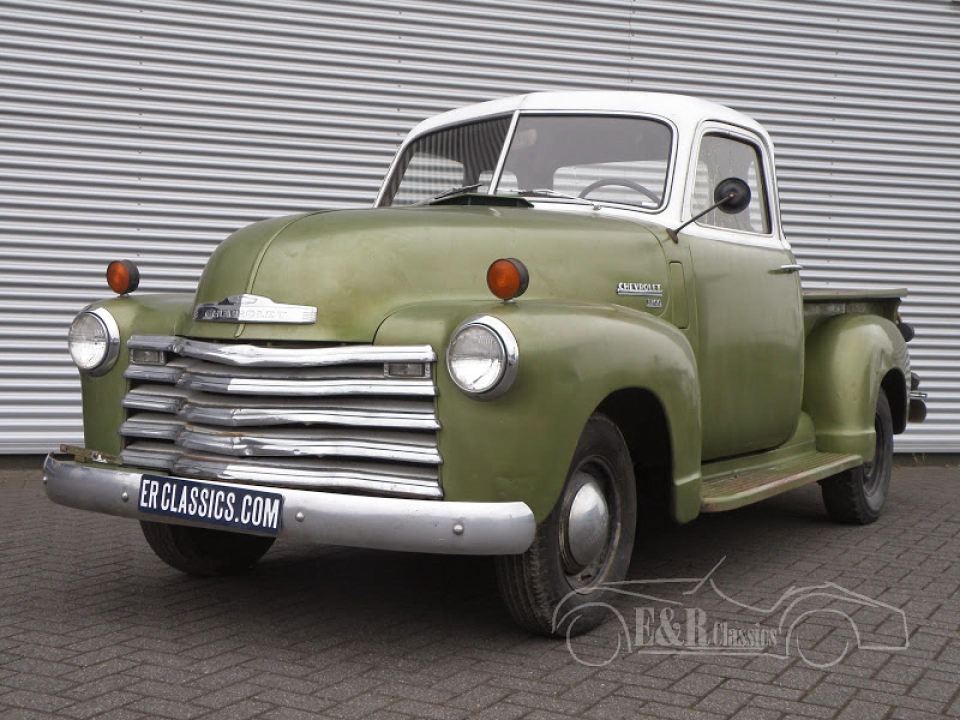 Chevrolet Oldtimer Siehe Das Angebot An Oldtimern Von 1949 Chevy Pickup 5 Window 3100
