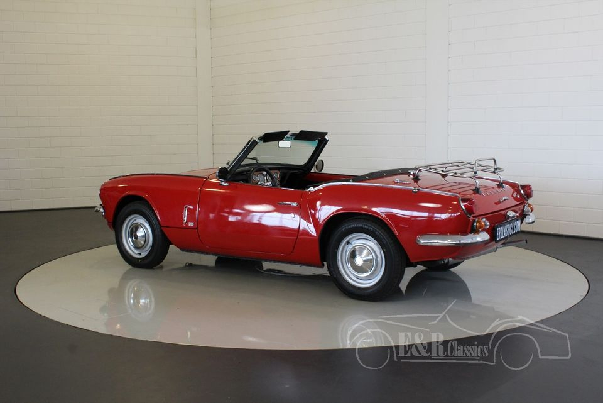 triumph spitfire cabriolet 1968 zum kauf bei erclassics. Black Bedroom Furniture Sets. Home Design Ideas