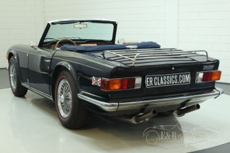 triumph tr6 kabriolett 1973 zum kauf bei erclassics. Black Bedroom Furniture Sets. Home Design Ideas